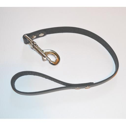 Leather Leash. Heavy Duty. PERSONALISED.