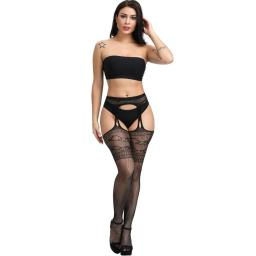 Suspender Tights. Pattern Lace top. Black (3).jpg