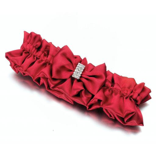 Lillian Rose Red Satin Rhinestone Garter.jpg