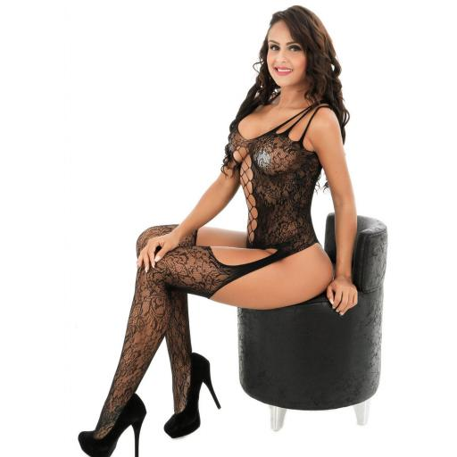 Body Stocking. Black Lace Sides, strap front (3).jpg