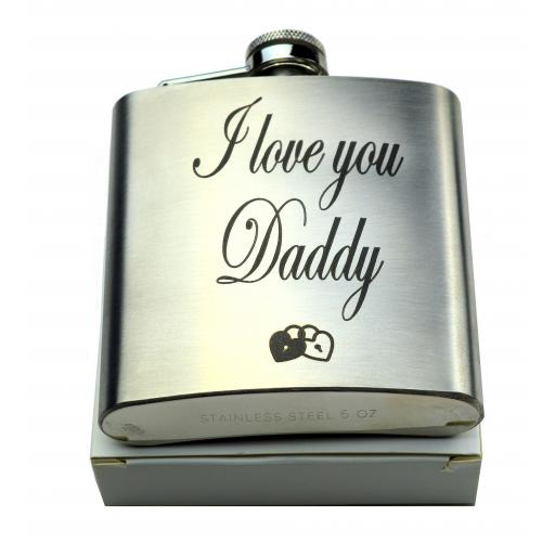 Personalised Hip Flask Gift