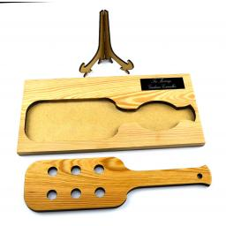 spanking paddle personalised plaque on stand 4.jpg
