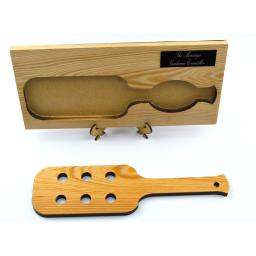 spanking paddle personalised plaque on stand 3.jpg