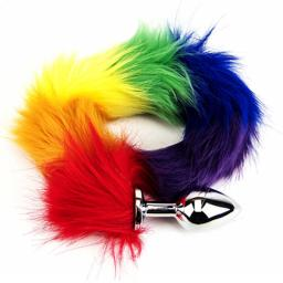 Furry rainbow fantasy butt plug tail (2).jpg