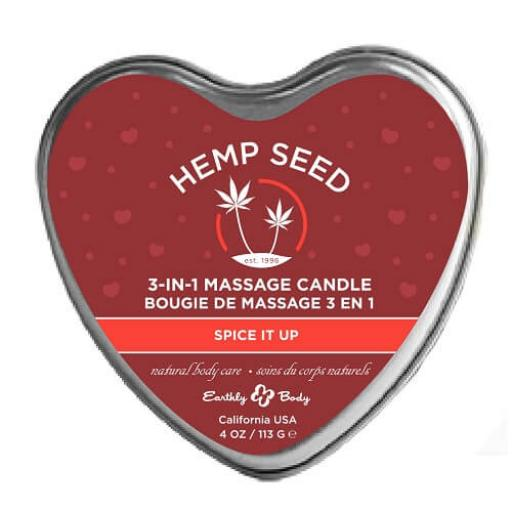 3 in 1 Massage Candle from Earthly Body - Spice it Up