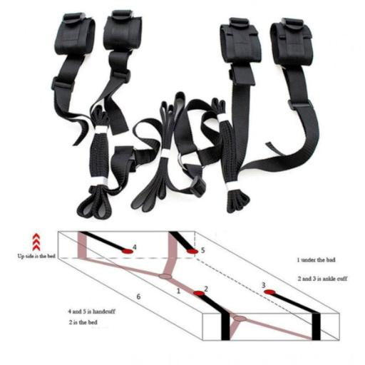 Under Bed / Matress Restraints. All bed sizes.
