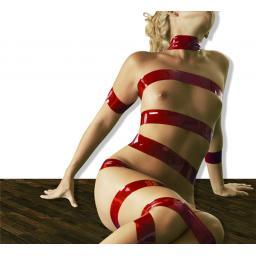 red bondage tape woman.jpg