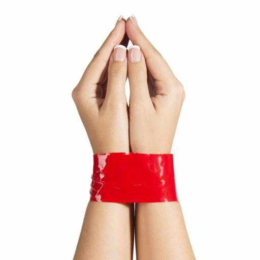 PVC Bondage Tape - 2 Rolls in RED